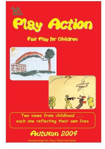 PlayAction: Autumn 2004 - Fair Play For Children