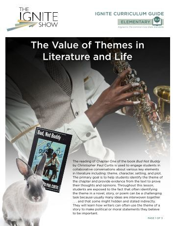 The Value of Themes in Literature and Life