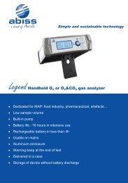 Brochure for Abiss Legend - ATI Corp