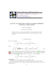 A study On some new types of Hardy-Hilbert's integral inequalities