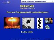 Radium-223 - bei oncoletter
