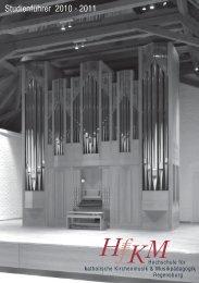 Studienführer 2010 - 2011 - Hochschule für katholische ...