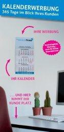 KalenderWerbung - Senne Rundschau
