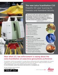 The new Leica ScanStation C10 Powerful 3D Laser Scanning for ...