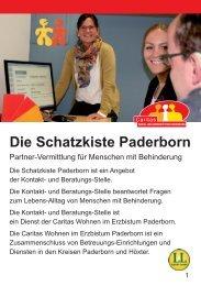 Die Schatzkiste Paderborn - Caritas Wohn