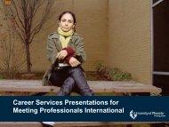 Crafting The Winning Resume - Meeting Professionals International ...