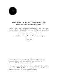 EVALUATION OF THE WELLSPRING MODEL FOR ... - PHI