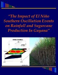 The impact of El Nino Southern Oscillation Events on Rainfall and ...