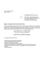 public/allegati/Convoca Assemblea Prov Elettiva ... - Fidal Piemonte