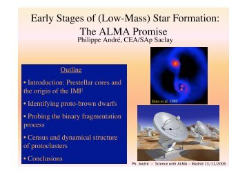 Early Stages of (Low-Mass) Star Formation: The ALMA Promise