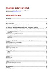 Impfplan 2012
