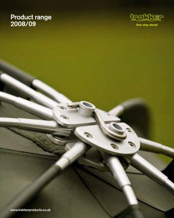 Product range 2008/09 - Trakker Products