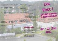 Flyer zum Anmelden - Deutsche Wanderjugend