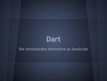 Die revolutionäre Alternative zu JavaScript - webdevFulda
