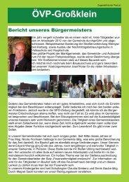 Ausgabe Jänner 2013 (PDF 468KB) - ÖVP Großklein
