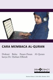 CARA MEMBACA AL-QURAN - Democracy Project