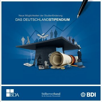 Das Deutschlandstipendium - Stifterverband für die Deutsche ...