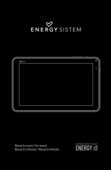 Manual de Usuario - Energy Sistem
