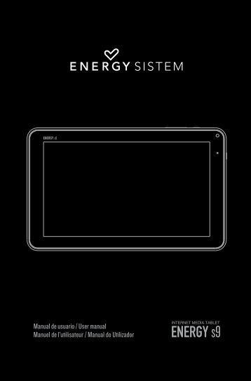 Manual de Usuario - Energy Sistem