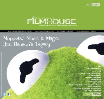 Jim Henson's Legacy - Filmhouse Cinema Edinburgh