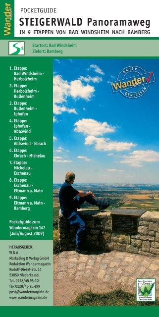Download Pocket Guide Steigerwald Panoramaweg
