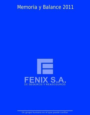 Descargar PDF - FENIX SA de Seguros y Reaseguros