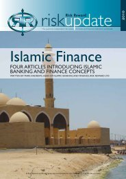 Islamic Finance - Risk Reward Limited