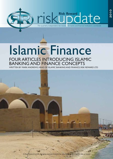 Islamic Finance - Risk Reward Limited