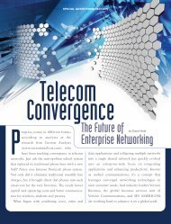 Telecom Convergence - Forbes Special Sections