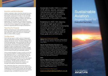 Executive Summary - Sustainable Aviation