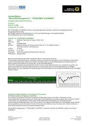 TOPAS BEST 20-GARANT - FinanceLife Lebensversicherung AG