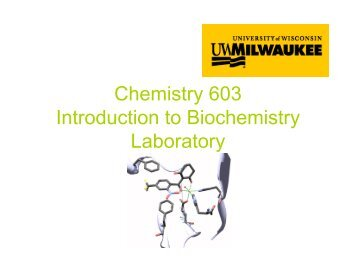 chemistry 422 biochemistry laboratory manual rh yumpu com Holt Chemistry Laboratory Experiments PDF Holt Chemistry Laboratory Experiments PDF