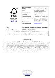 FSC-STD-40-004 V2-0 D3-0 EN_CoC Certification_DRAFT - NEPCon