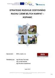 Strategie-rozvoje-cestovniho-ruchu-uzemi-Bilych ... - Zlínský kraj