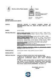 16.1 Predlog sklepa o ukinitvi statusa javnega dobra na ...
