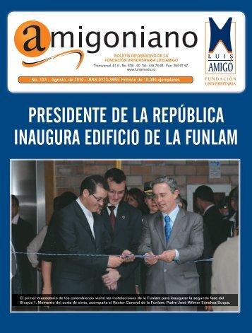 Amigoniano No 133 - Agosto de 2010 - Fundación Universitaria Luis ...
