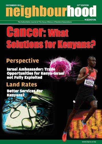 Neighbourhood Kenya 22nd Edition - Kara