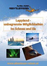 Lappland - unbegrenzte Möglichkeiten im Schnee und Eis