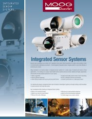 Integrated Sensor Systems - Moog Quickset