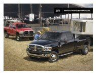 DODGE RAM 2500/3500 heavy Duty