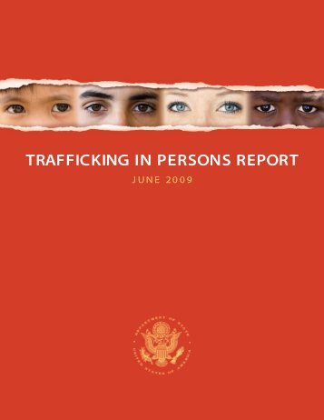 TRAFFICKING IN PERSONS REPORT - Harvard Kennedy School