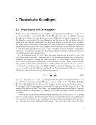 2 Theoretische Grundlagen