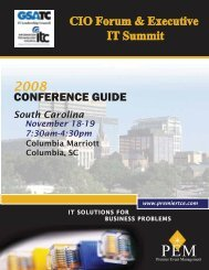 CONFERENCE GUIDE - PEM Home