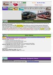 Bus Eix de - Empresas Autobuses Líneas