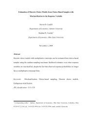 Estimation of Discrete-Choice Models from Choice-Based Samples ...