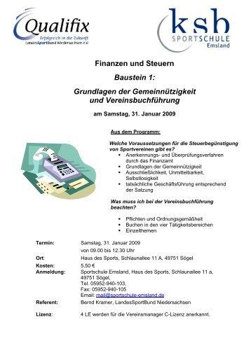 Finanzen und Steuern Baustein 1: Grundlagen der ...