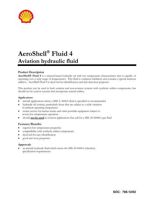 H - PDS Aeroshell Fluid 4 - Direct Aviation