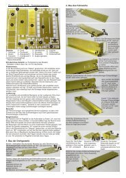 Bauanleitung SPB - Sommerwagen