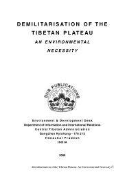 Demilitarisation of the Tibetan Plateau (2000)
