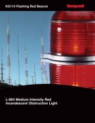 KG114 Flashing Red Beacon - Sensors Tecnics, Honeywell